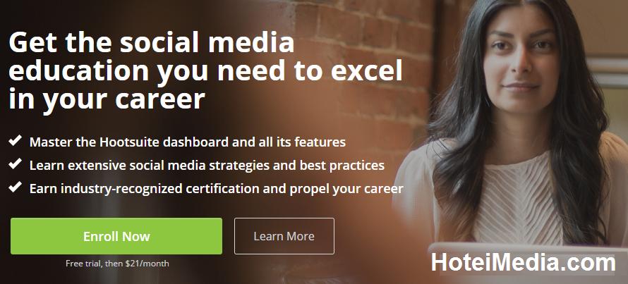 Hootsuite-University social manager